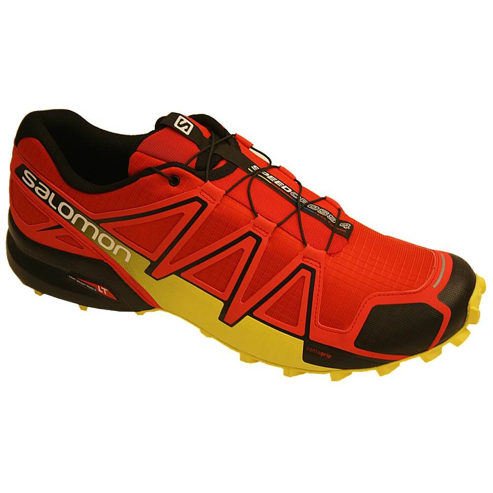 Salomon Speedcross 4 rot