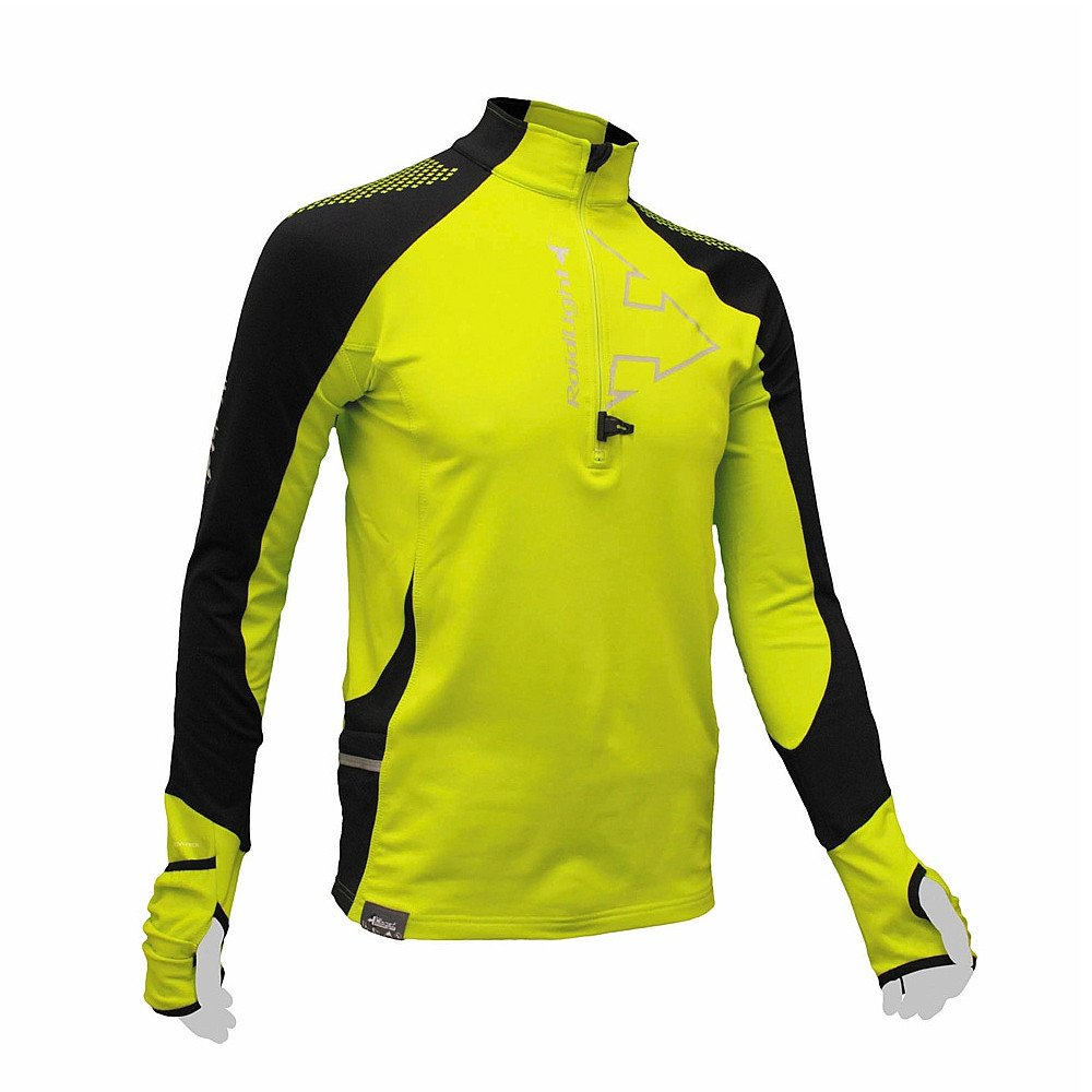 Raidlight Wintertrail Shirt gelb