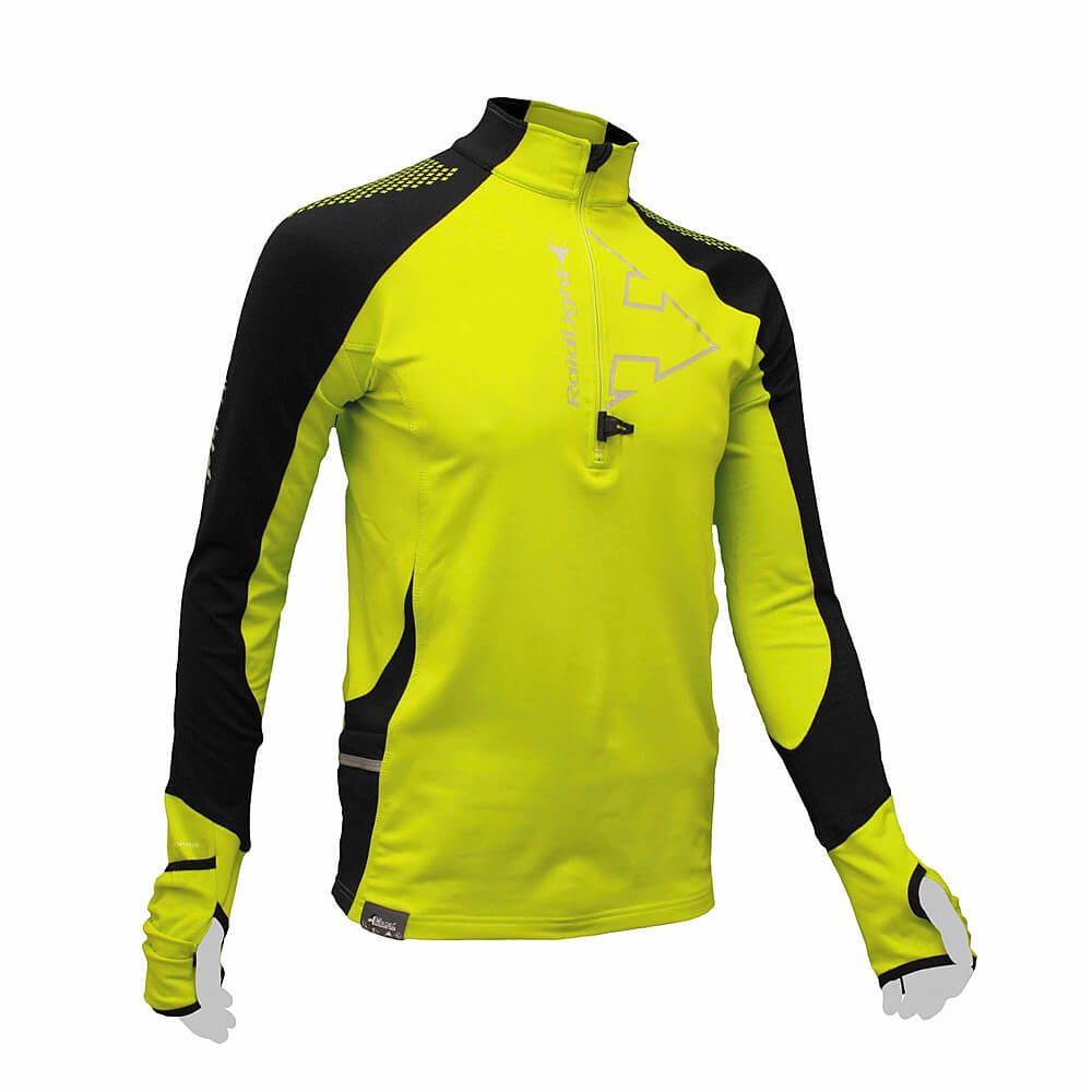 Raidlight Wintertrail Shirt gelb