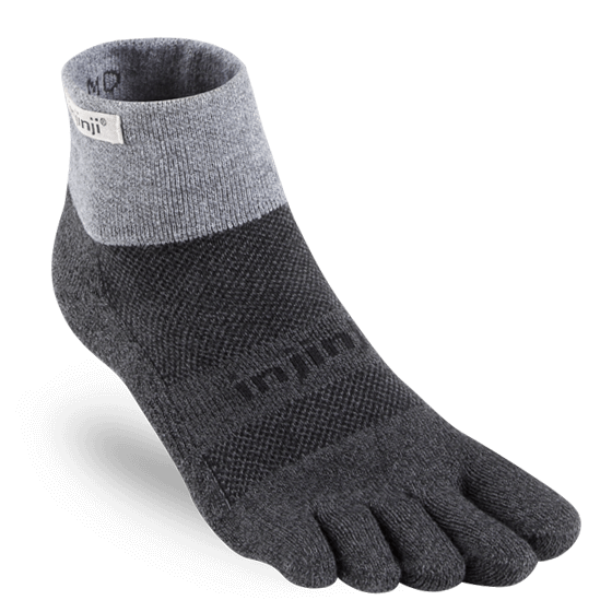 injinji trail midweight granite coolmax
