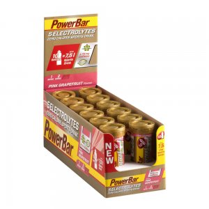powerbar 5 electrolytes pink grapefruit box