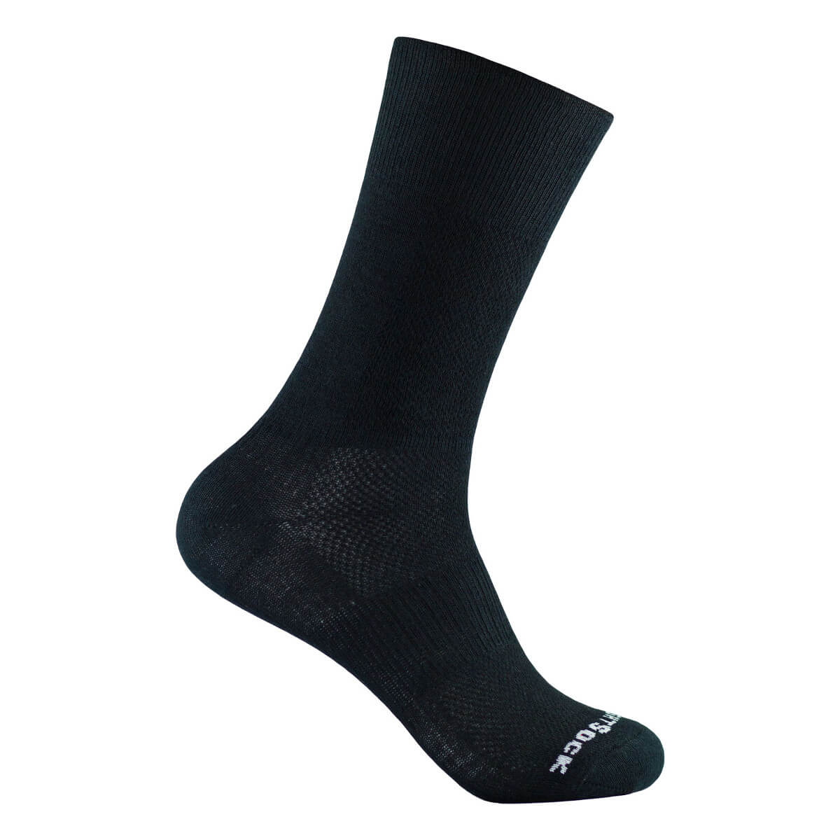 wrightsock coolmesh 2 crew black