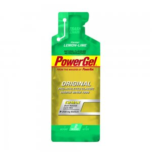 powerbar powergel original lemon lime