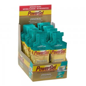 powerbar powergel original lemon lime box