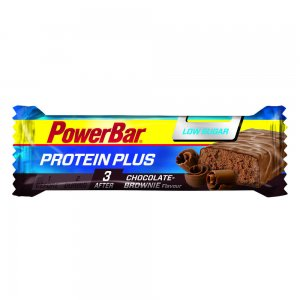 powerbar protein plus chocolate brownie low sugar