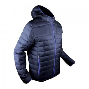Vertical Down Jacket dunkelblau