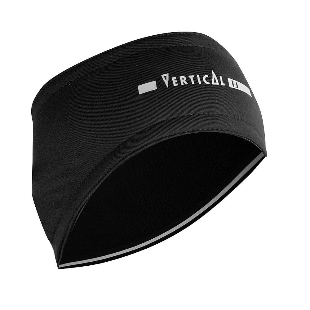 Vertical Thermofleece Headband schwarz