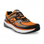Topo Athletic Ultrafly Orange/Schwarz Seite