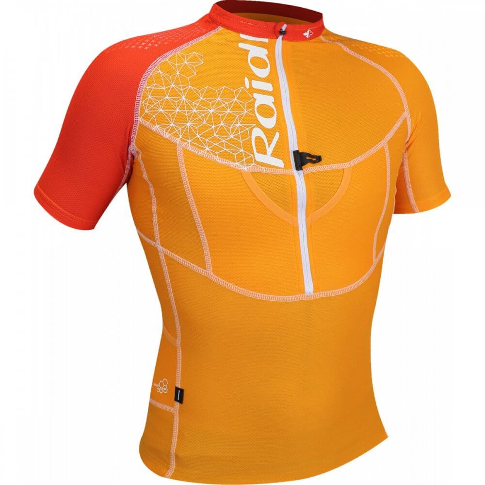Raidlight Trikot XP Fit orange Vorderseite