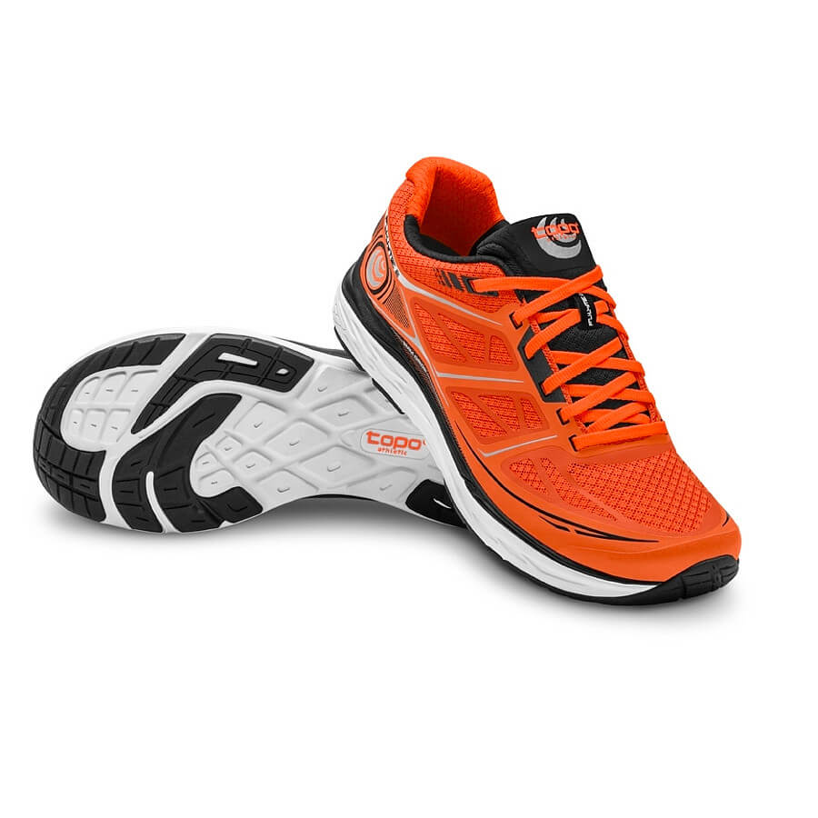 Topo fly lite 2 orange schwarz
