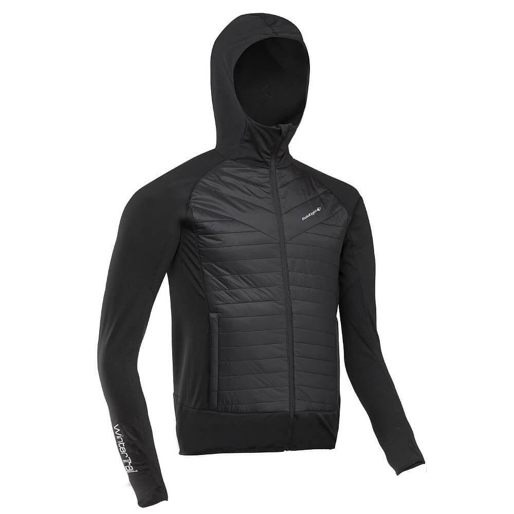 Raidlight Wintertrail Hybrid Jacke schwarz