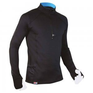 Raidlight Wintertrail Shirt schwarz